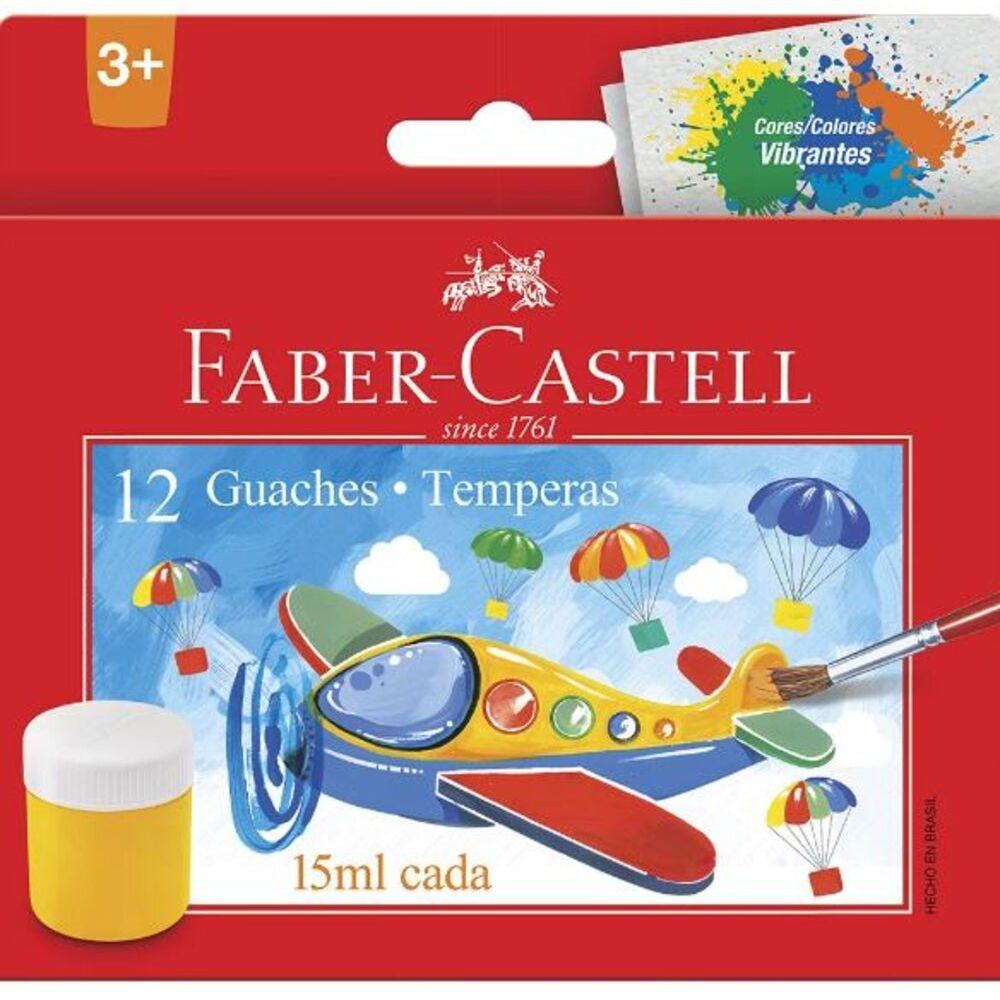TINTA-GUACHE-12-CORES---FABER-CASTELL