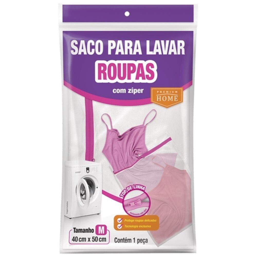 SACO-PARA-LAVAR-ROUPAS-COM-ZIPER-PREMIUM-HOME---PLASTLEO