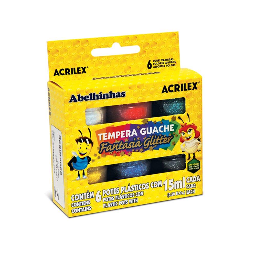 TINTA-GUACHE-GLITTER-CAIXA-6-UNIDADES-15ML---ACRILEX