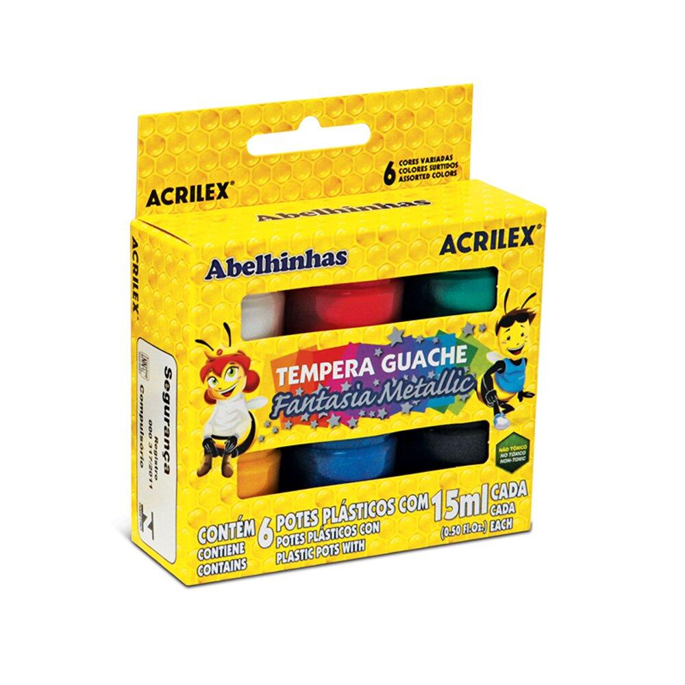TINTA-GUACHE-METALLIC-CAIXA-6-UNIDADES-15ML---ACRILEX