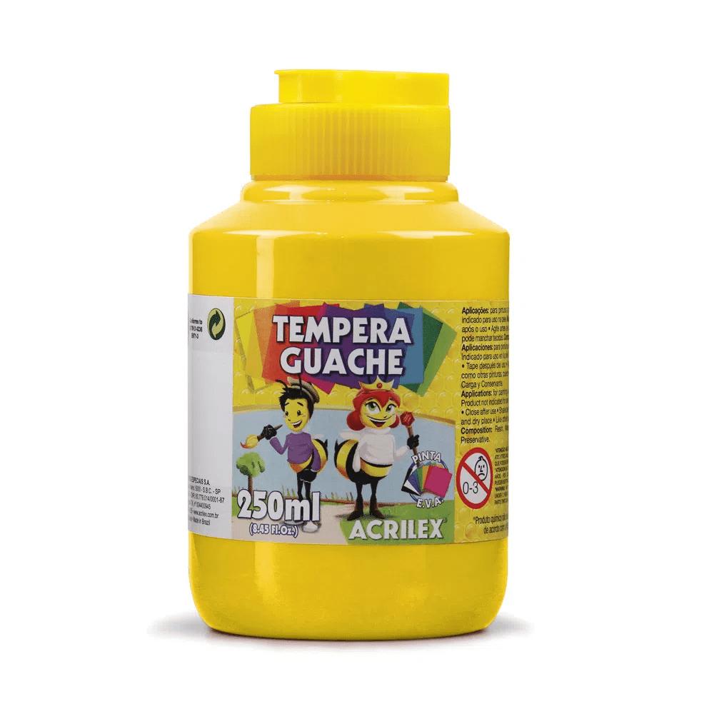 TINTA-GUACHE-250ML-AMARELO-505